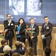 3nine成功入围智能行业奖的最终五家企业之一